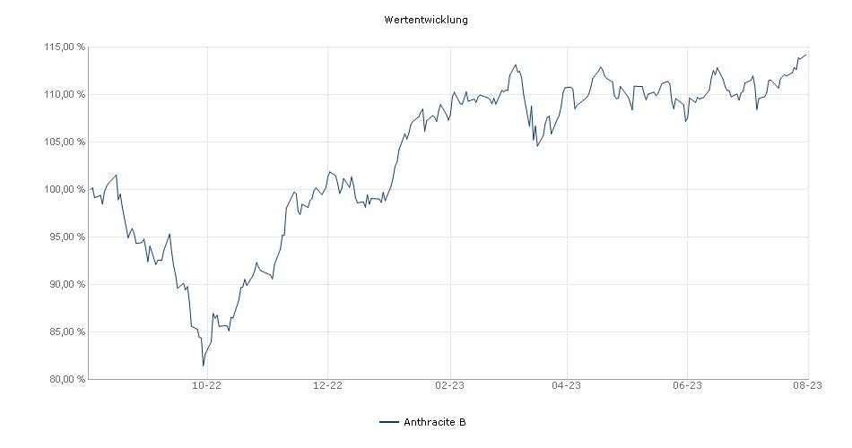 Anthracite B Fonds Performance