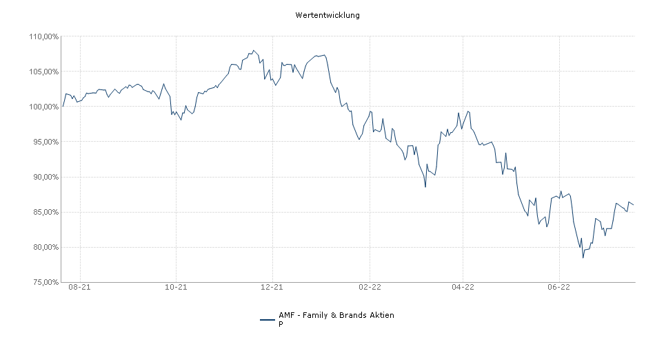AMF - Family & Brands Aktien P Fonds Performance