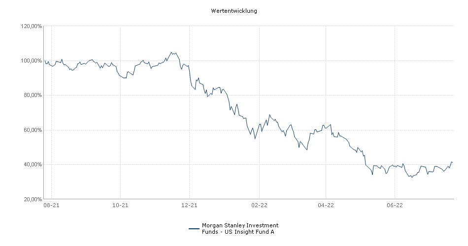 Morgan Stanley Investment Funds - US Insight Fund A Fonds Performance