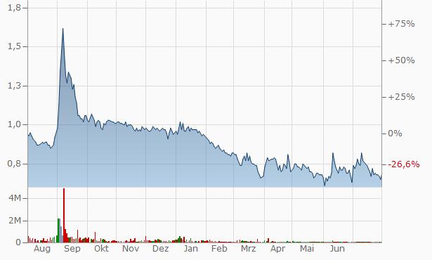 Wagend Infra Venture Chart